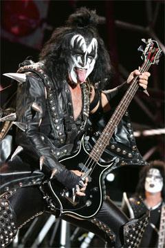 Gene Simmons, legendario miembro de Kiss